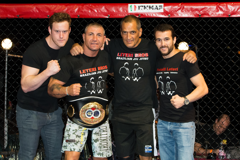 F.lli Leteri Brazilian Jiu Jitsu Verona al Cage Fight 13.