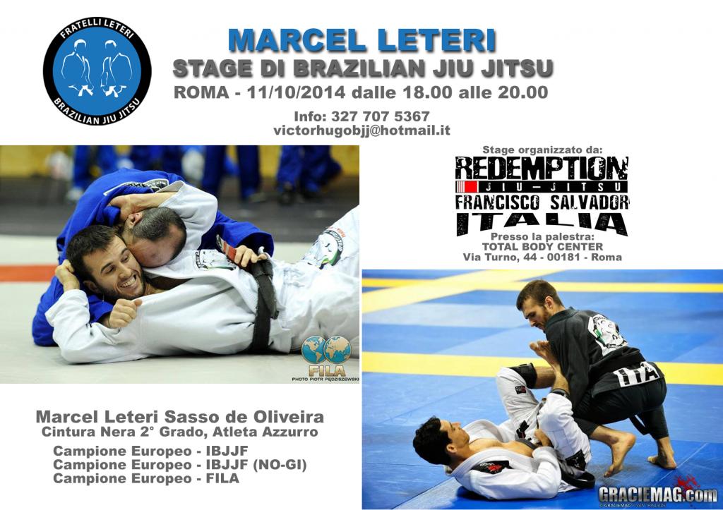 Marcel Leteri - BJJ Seminar - Rome