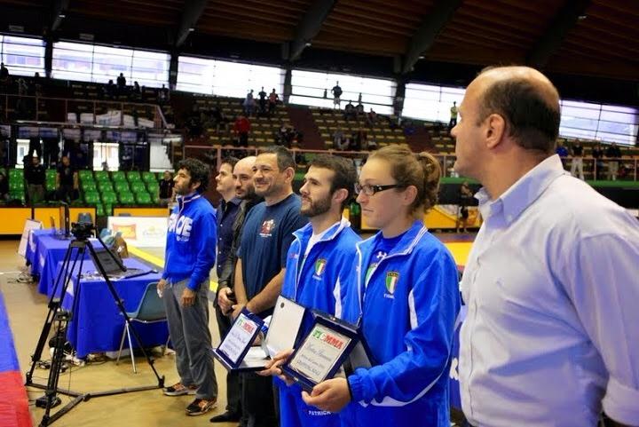 Grappling Verona, Prof. Marcel Leteri, atleta dell'anno 2014