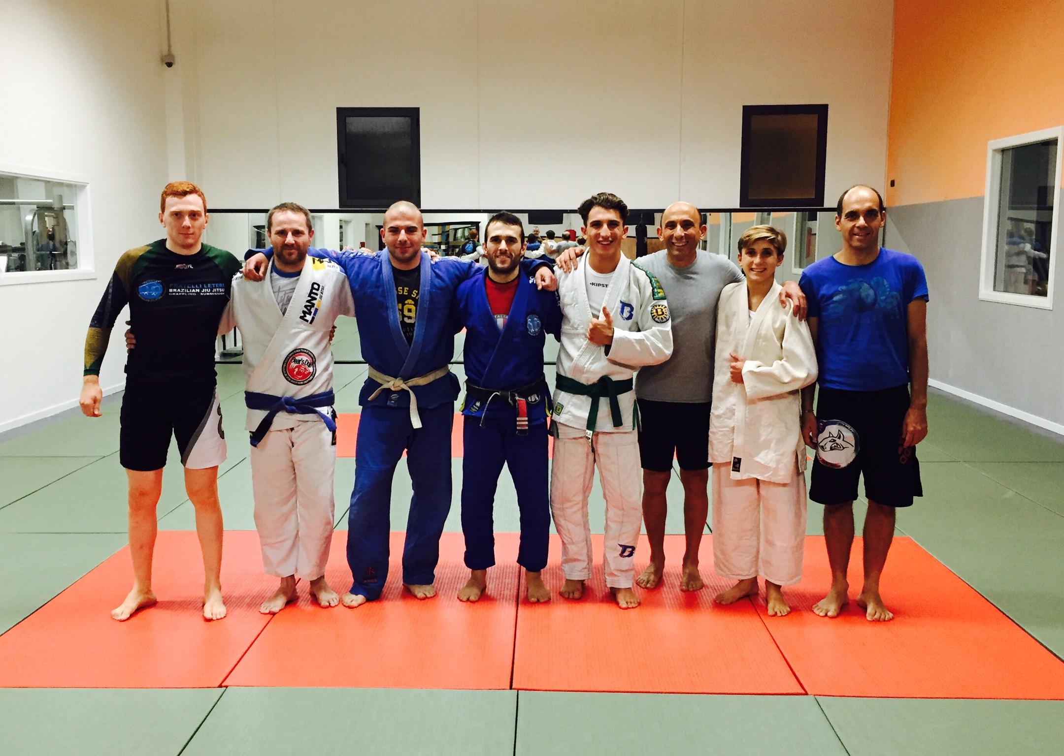 Corsi Brazilian Jiu Jitsu Peschiera Stagione 2015-16