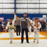 Coach Marcel Leteri Sasso de Oliveira, refereeing at Grappling Industries in Melbourne