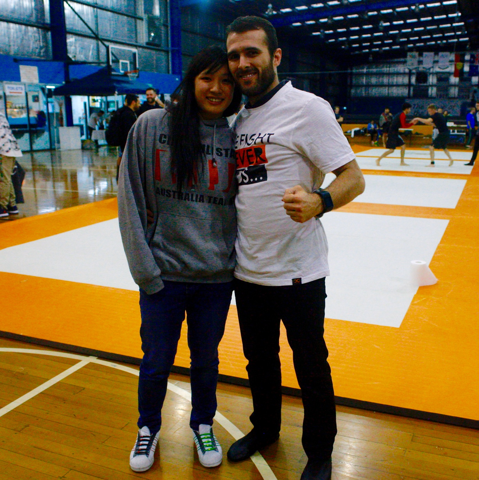 Coach Marcel Leteri Sasso de Oliveira, referee and coach at