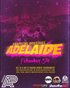 Coach Marcel Leteri Sasso de Oliveira Refereed at Grappling Industries Adelaide