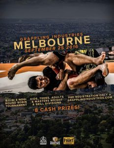 Coach Marcel Leteri Sasso de Oliveira Refereed at Grappling Industries Melbourne