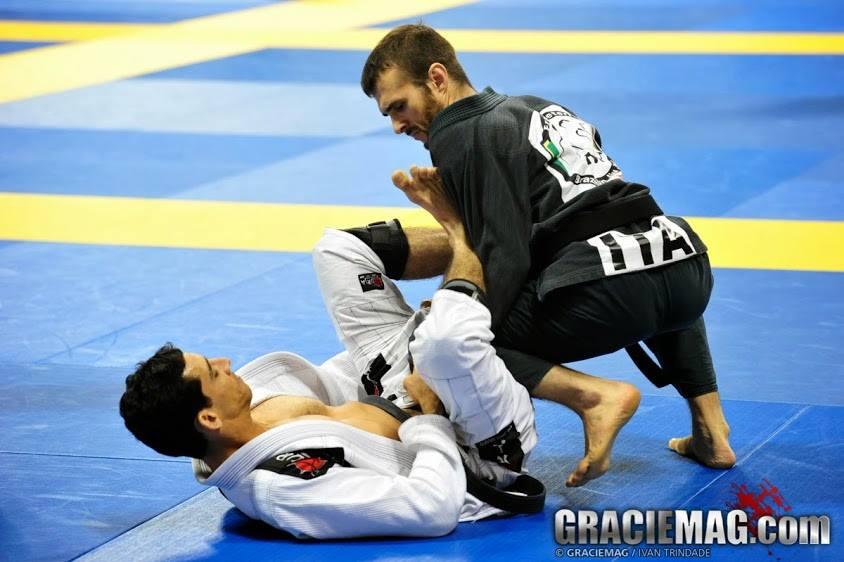 Marcel Leteri Sasso de Oliveira 2013 IBJJF Worlds Master Silver Medallist
