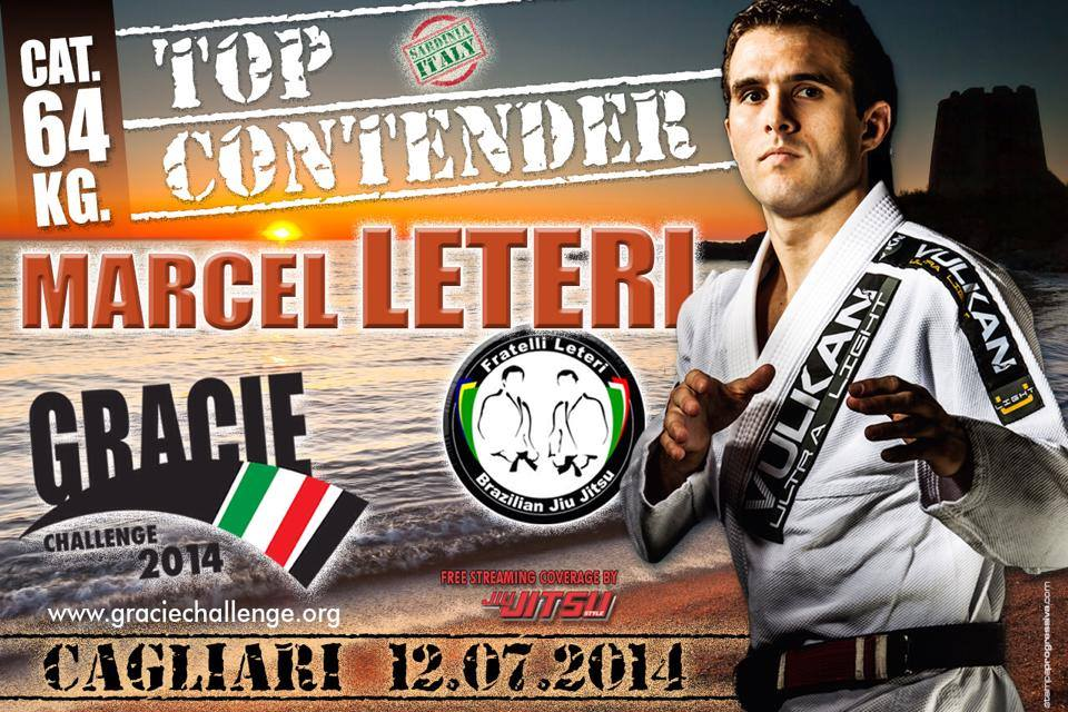 Marcel Leteri Sasso de Oliveira, Gracie Challenge Champion and Best Athlete Award by Roger Gracie.