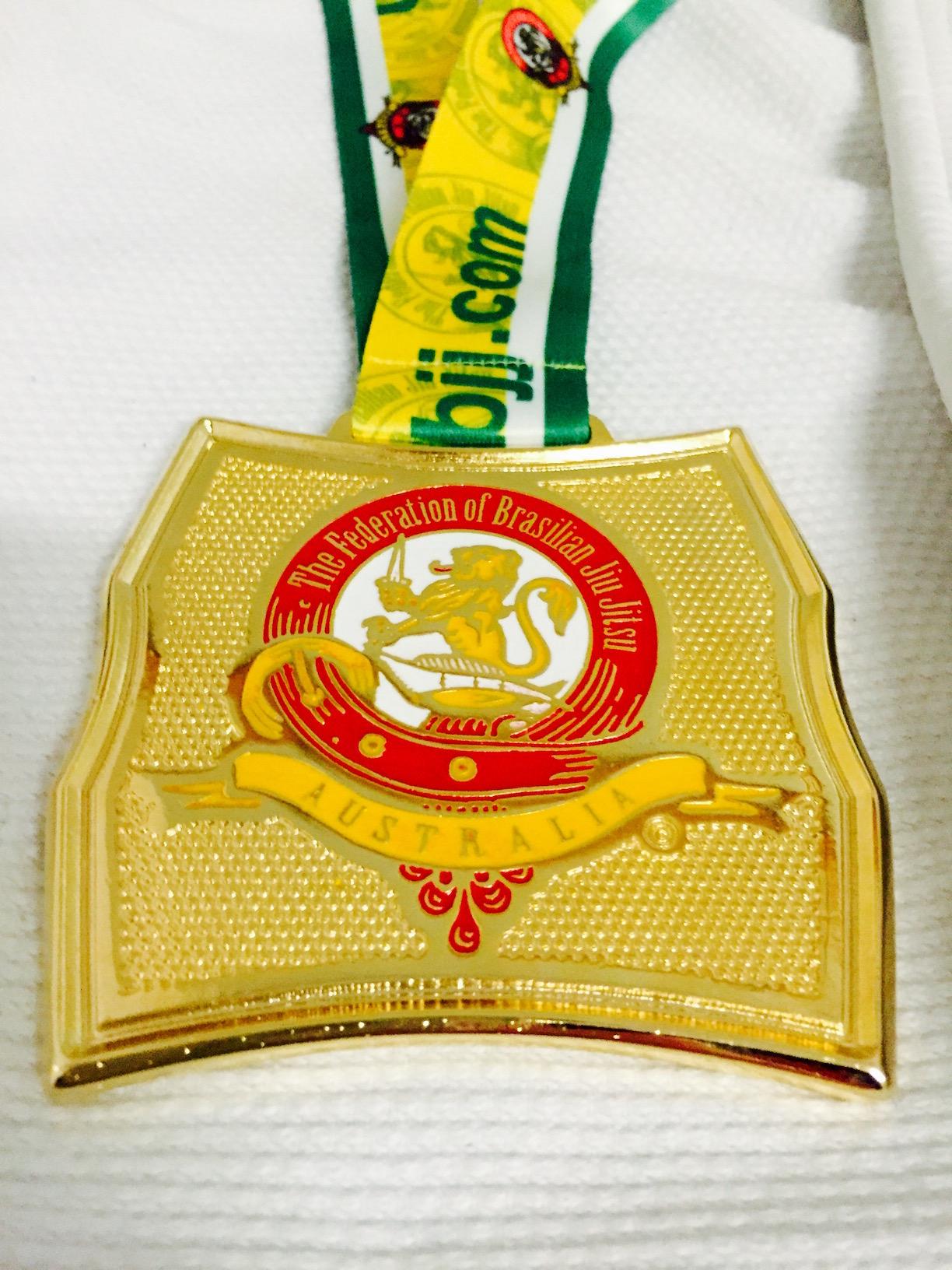 Marcel Leteri Sasso de Oliveira 2017 AUS National Gold Medal.