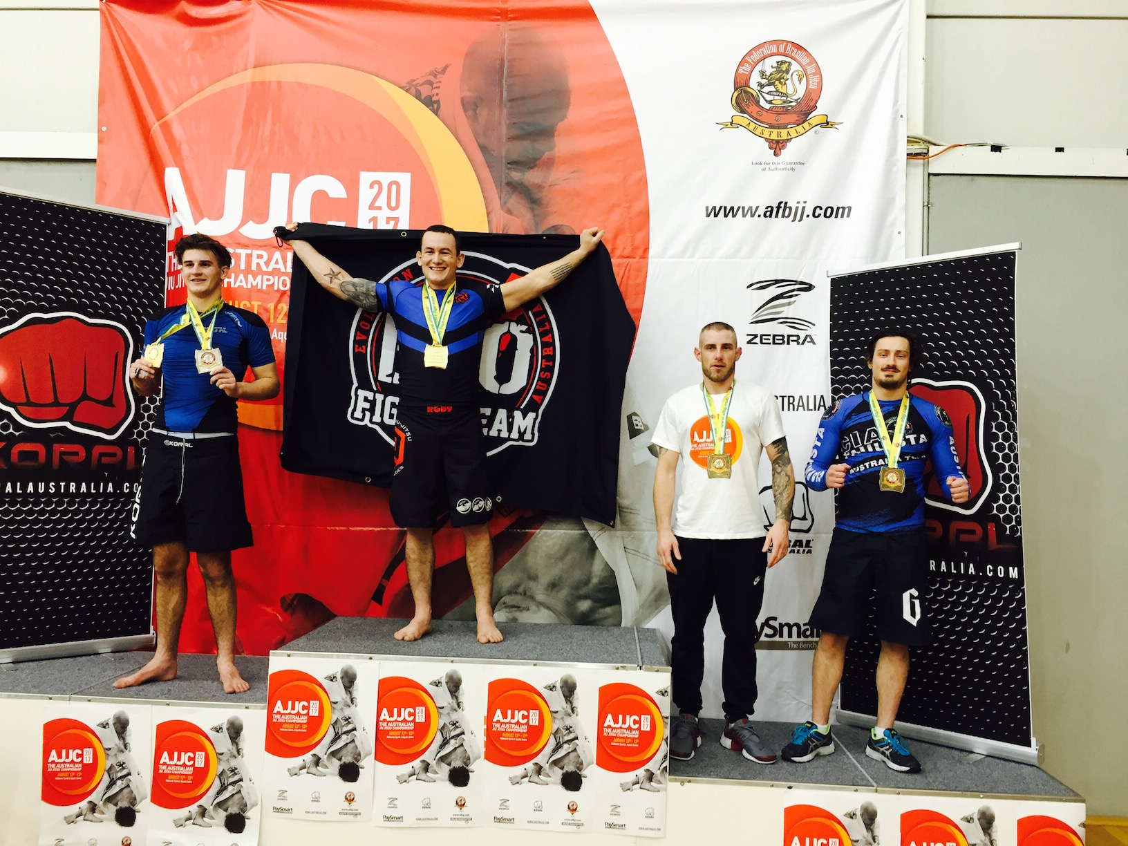 Marcel Leteri Sasso de Oliveira's Student got Bronze Medal at the 2017 AUS National